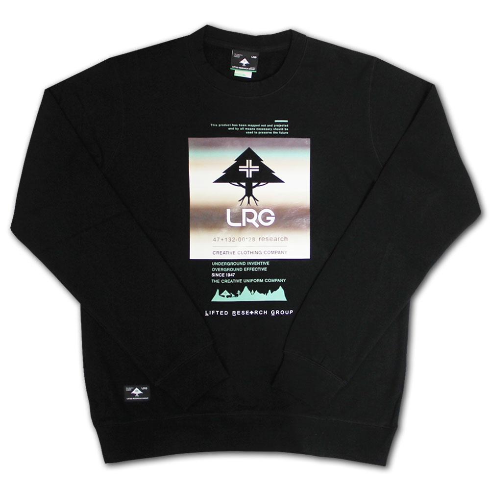 Lrg Tree Blend Sweatshirt Black
