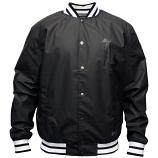 LRG Men's 47Th Ward Posse Starter Jacket Black