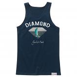 Diamond Supply Co OG Yacht Club Tank Top Navy