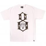 Rebel8 Fall Camo Logo T-shirt White