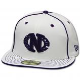 Dark n Cold Egg Logo Baseball Cap White Purple