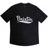 Brixton Ltd Gomez 3/4 Sleeve Henley T-Shirt Navy