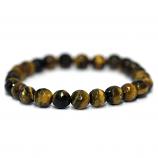 Yellow Tiger Eye Faceted Bracelet