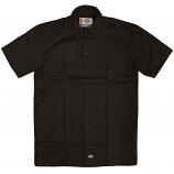 Dickies 1574 Short Sleeve Work Shirt Dark Brown