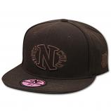 Dark n Cold Egg Logo Baseball Cap Brown