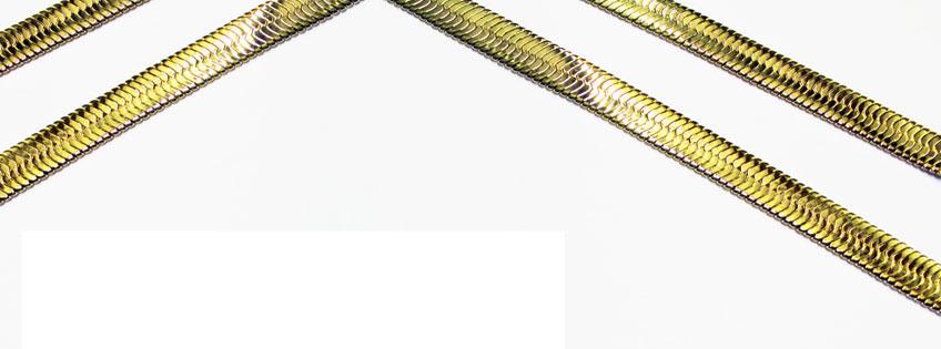 Shop high quality herringbone chains and costume jewellery