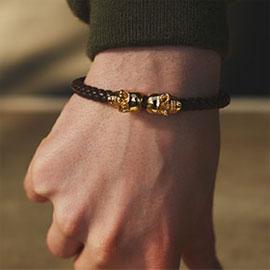northskull bracelets, northskull jewellery, northskull, mens bracelets, leather bracelets, leather jewellery, nappa bracelet