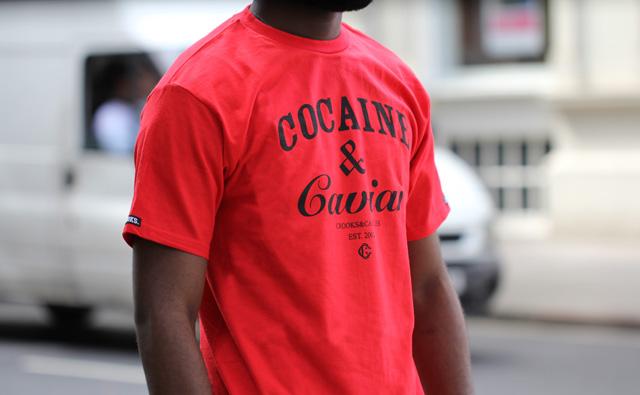 Crooks and Castles Cocaine & caviar t-shirt