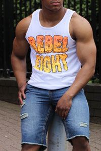 Rebel8 Tank Tops