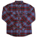 Brixton Bowery Flannel Shirt Navy Plaid