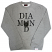 Diamond Supply Co Skull Sweatshirt Grey
