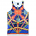 Crooks & Castles Regalia Tank Top Blue Navy Multi