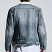 Embellish Motley Denim Jacket in Vintage Wash