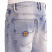 Pelle Pelle Buster Loose Denim Shorts Ice Wash