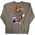 REBEL8 Dukes of Destruction Men's Crewneck Sweatshirt Gun Metal