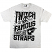 Famous Stars & Straps Twitch Spill T-Shirt - Athletic Heather/Black