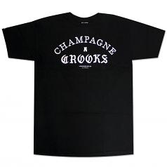 Crooks & Castles Four Cees T-shirt Black