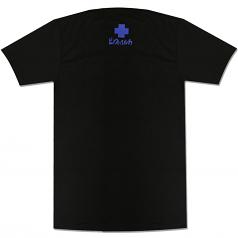 Pink Dolphin Cross Content T-Shirt Black