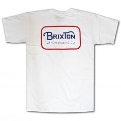 Brixton Freeman T-Shirt White