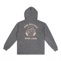 Pink Dolphin Silk Knit WC Hoodie Stone Cloud