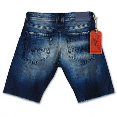 Rivet De Cru Lime Cream Denim Shorts