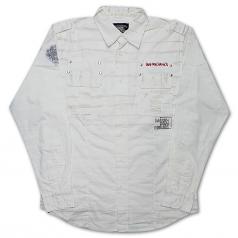Live Mechanics Pain and Passion Shirt White