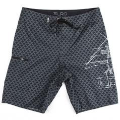 LRG Icon Boardshort Charcoal Black