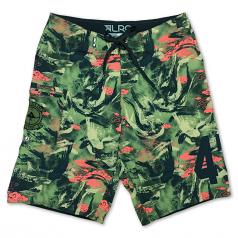 LRG R and Destroy Board shorts Fir Green Camo