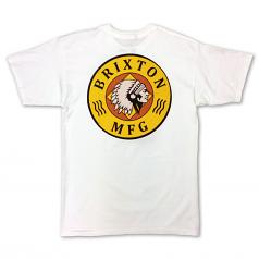 Brixton Lt Ottawa Standard Fit Men's T-Shirt White
