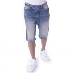 Pelle Pelle Buster Baggy Denim Shorts Four Seasons