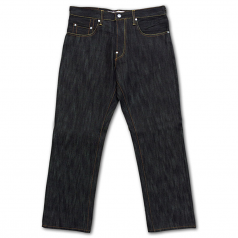 Crown Collective Heavy Duty Straight Fit Jeans Raw Black