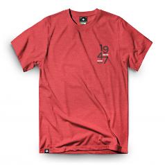 Lrg Good School T-Shirt Red Heather