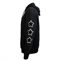 Top Gun Sky Boss Pullover Hoodie Black
