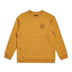 Brixton Oath Sweatshirt Maize