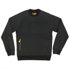 Crooks & Castles Lavish Men's Knit Sweatshirt Black