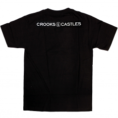 Crooks & Castles Old Bandito T-shirt Black