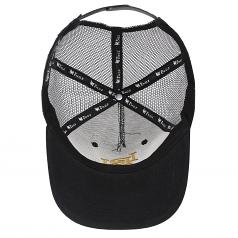 LDN Trucker snapback Cap Black Gold
