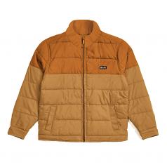 Brixton Cass Puffer Jacket Copper