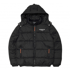 Crooks & Castles New Core Puffer Jacket Black
