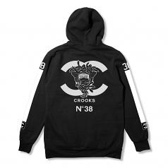Crooks & Castles No38 Hooded Tracksuit Black