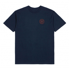 Brixton Oath T-Shirt Blue Red