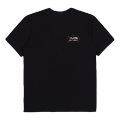 Brixton Jolt Premium T-Shirt Black Red