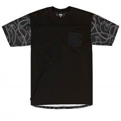 Crooks & Castles Chainleaf Pocket T-shirt Black Multi
