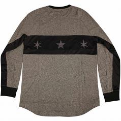 Famous Stars & Straps Whip Long Sleeved T-shirt Black Heather