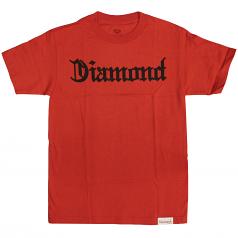 Diamond Supply Co Diamond 4 Life T-shirt Red