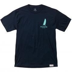 Diamond Supply Co Boat Life T-shirt Navy