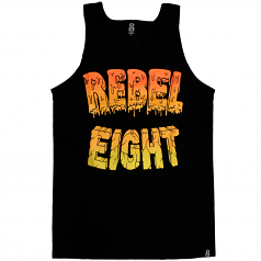 Rebel8 Goo Tank Top Black