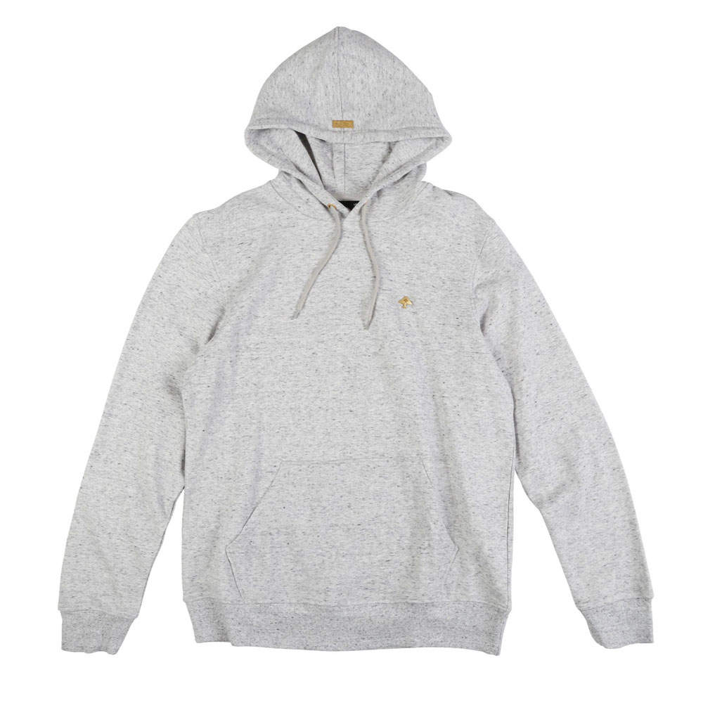 LRG Nothing But Gold Pullover Hoodie Ash Heather