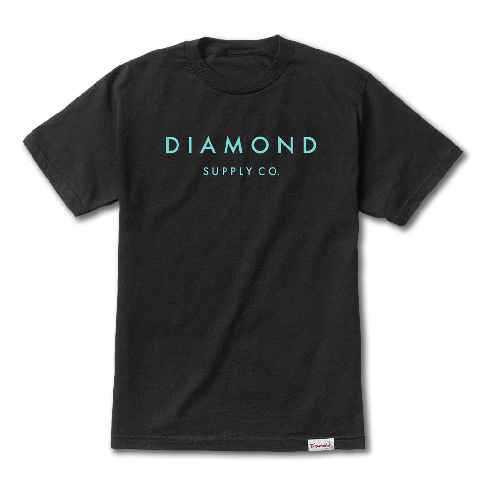 Diamond Supply Co Stone Cut T-shirt Black Tiff