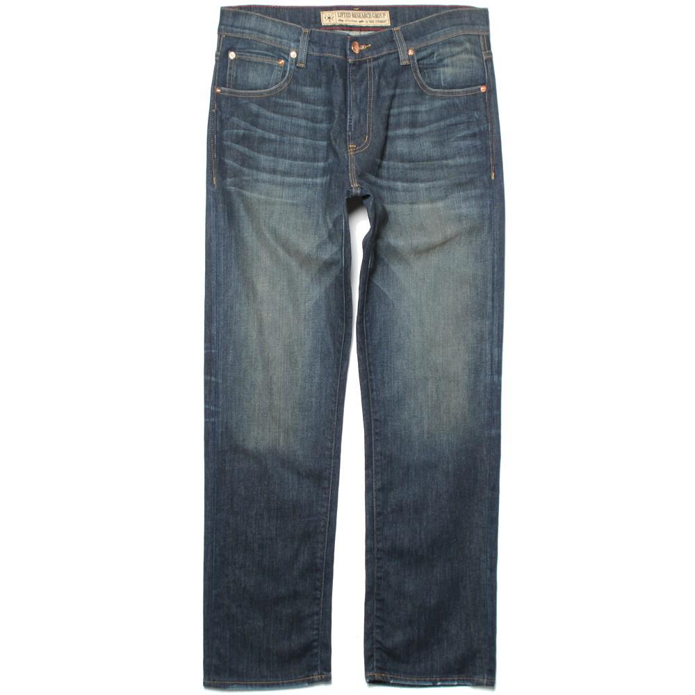 Lrg True Straight Men's Jeans Worn Vintage